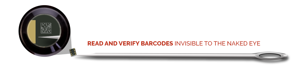 Read and Verify Codes Invisible to the Naked Eye