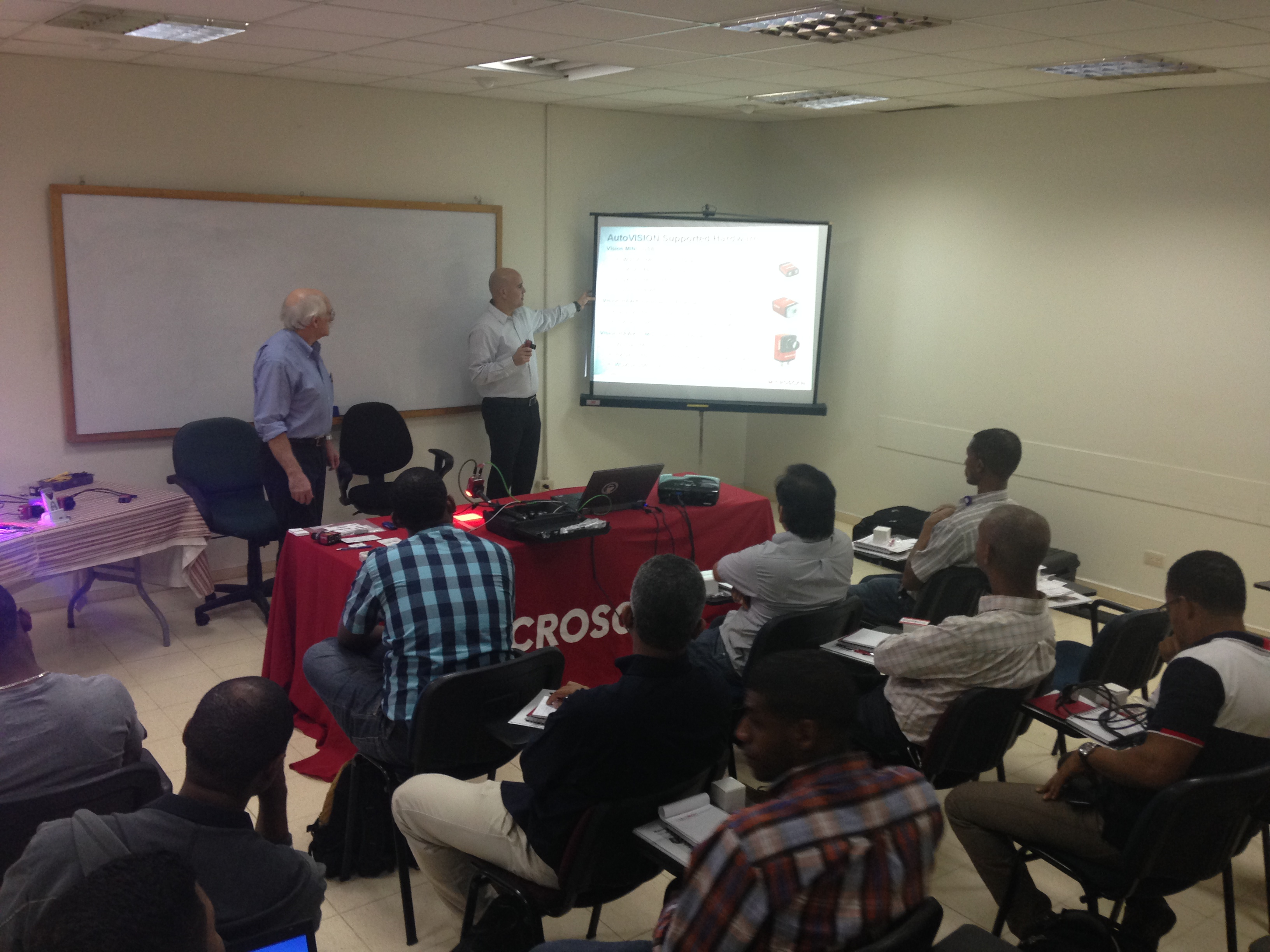 Machine Vision Training in Dominican Republic
