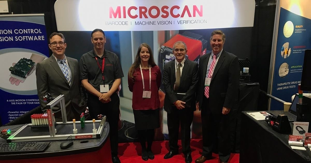 Microscan Team at AACC