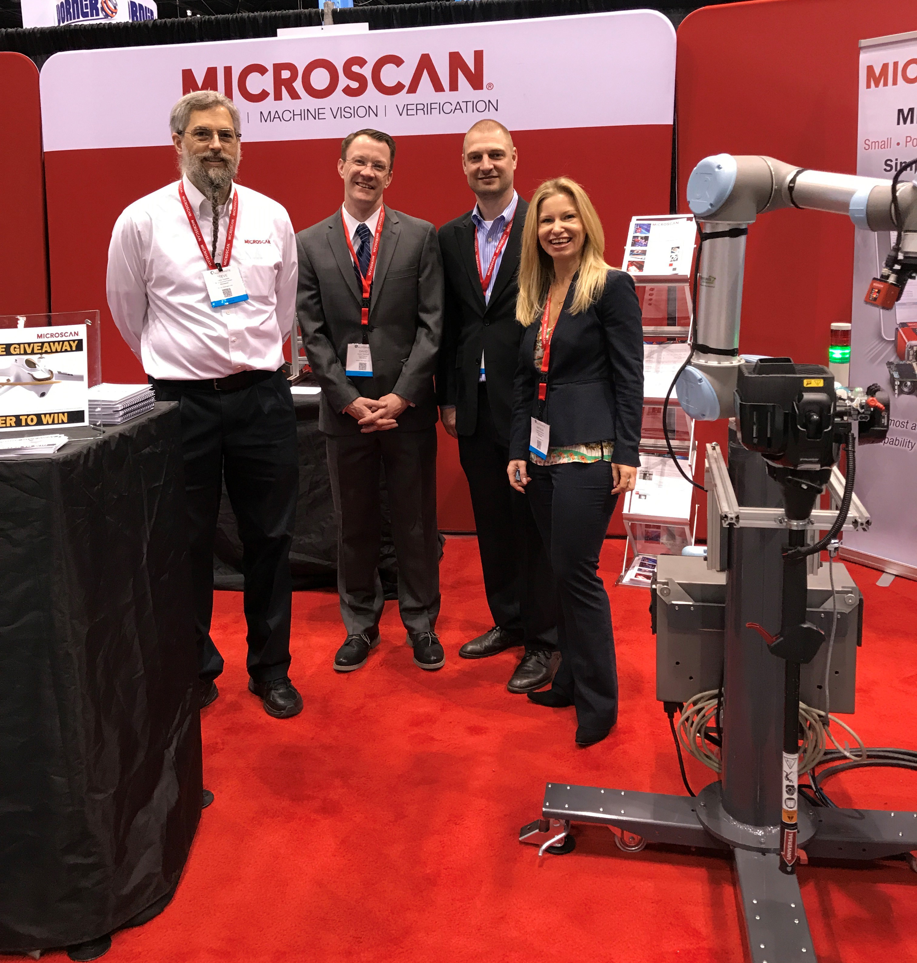Microscan at Automate 2017