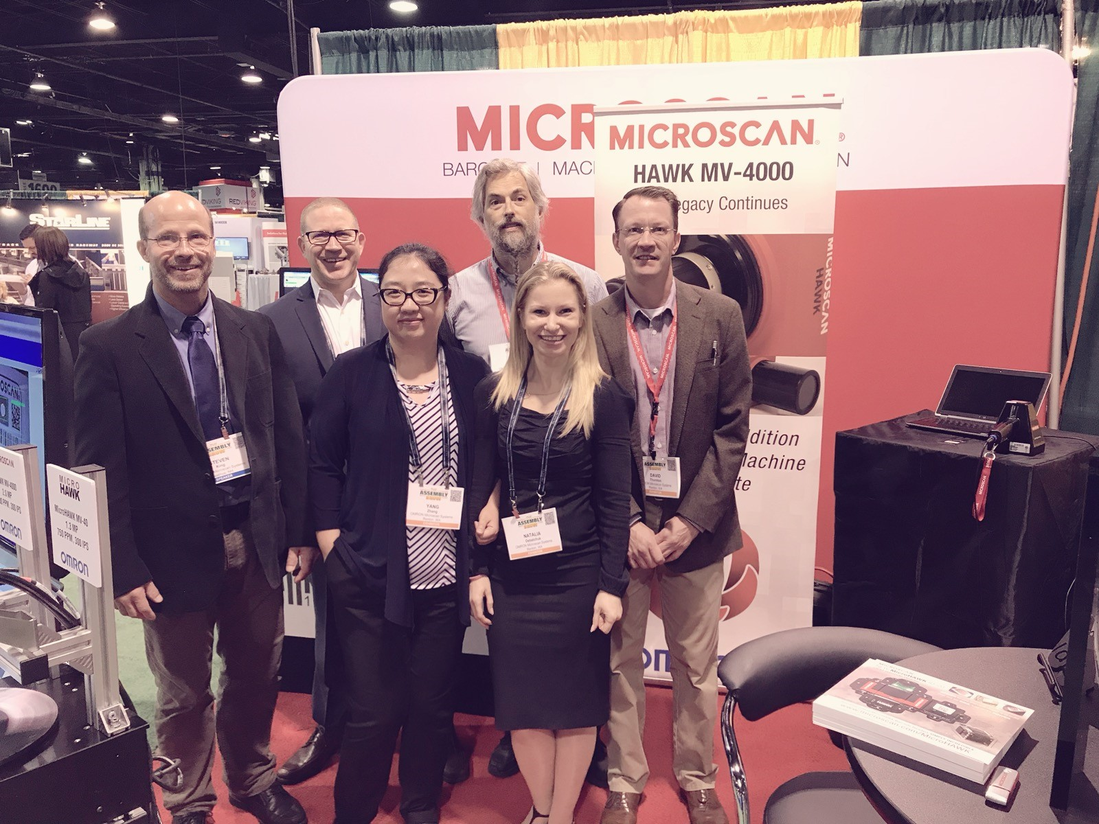 Microscan Team at The Assembly Show 2017