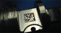 DPM - Nadelprägung auf Metall