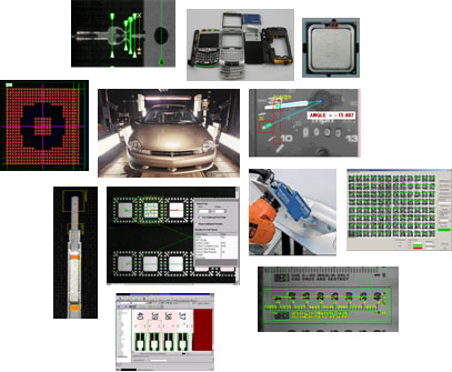 Machine Vision Common Applications Multiple Examples Image