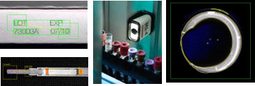 Life Sciences Machine Vision Applications - Inspect Example