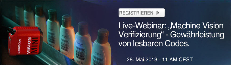 Register for the Barcode Verification Webinar
