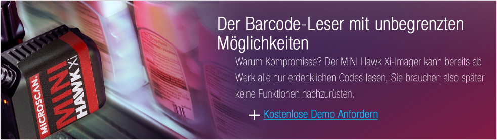 Get a Demo: Unlimited Barcode Reading