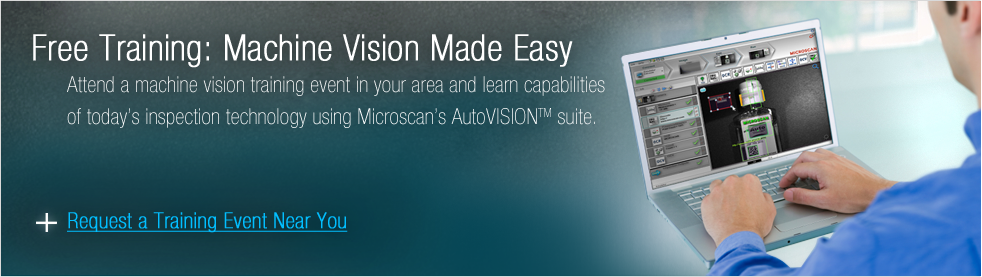 Request Free Machine Vision Training in Your Area