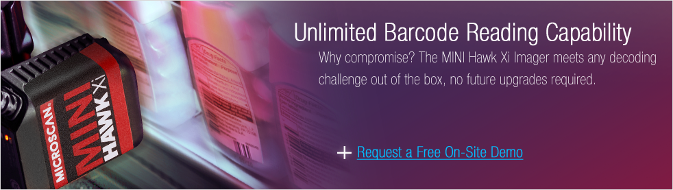 Get a Demo: Unlimited Barcode Reading Capability