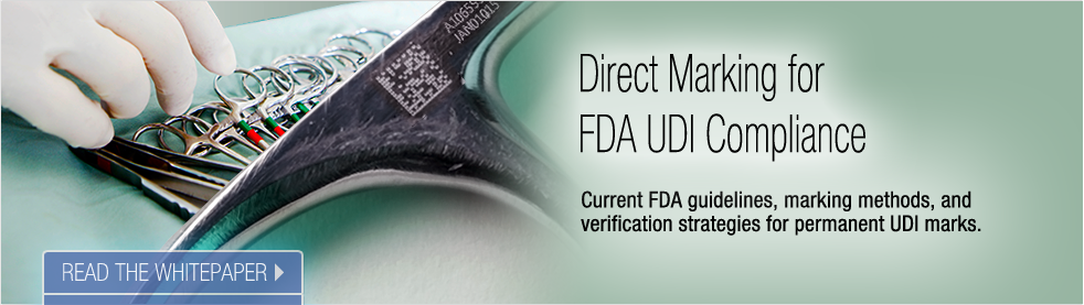 Read the Whitepaper: Direct Marking for UDI Compliance