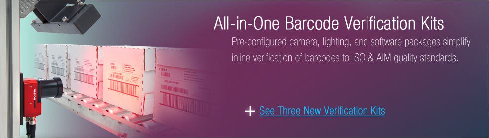 New All-in-One Barcode Verification Kits
