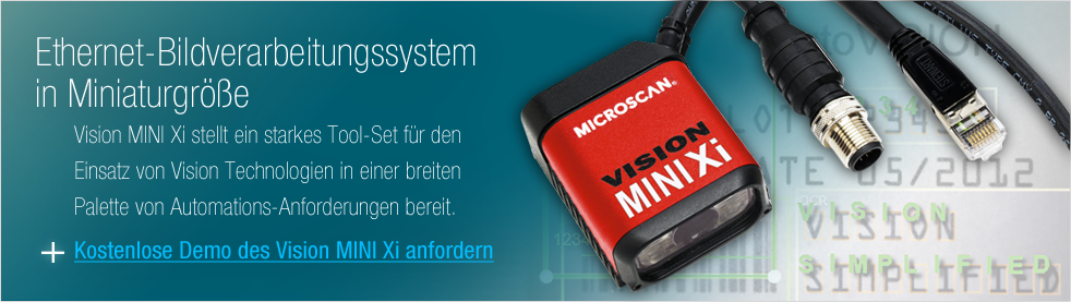 Get a Demo: World's Smallest Vision System with Embedded Ethernet