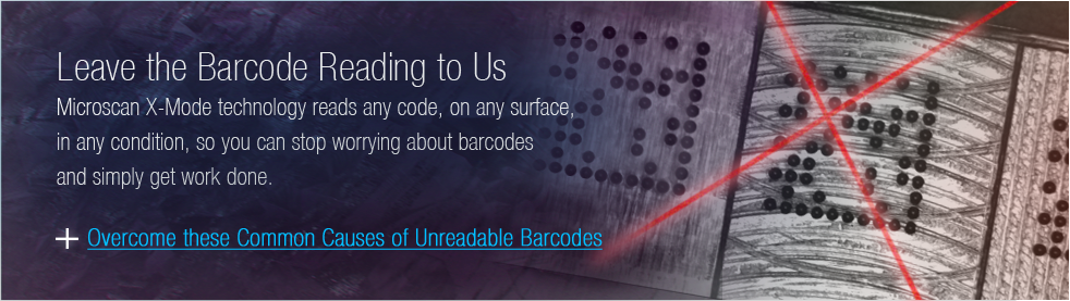 Leave Your Barcode Reading to Us