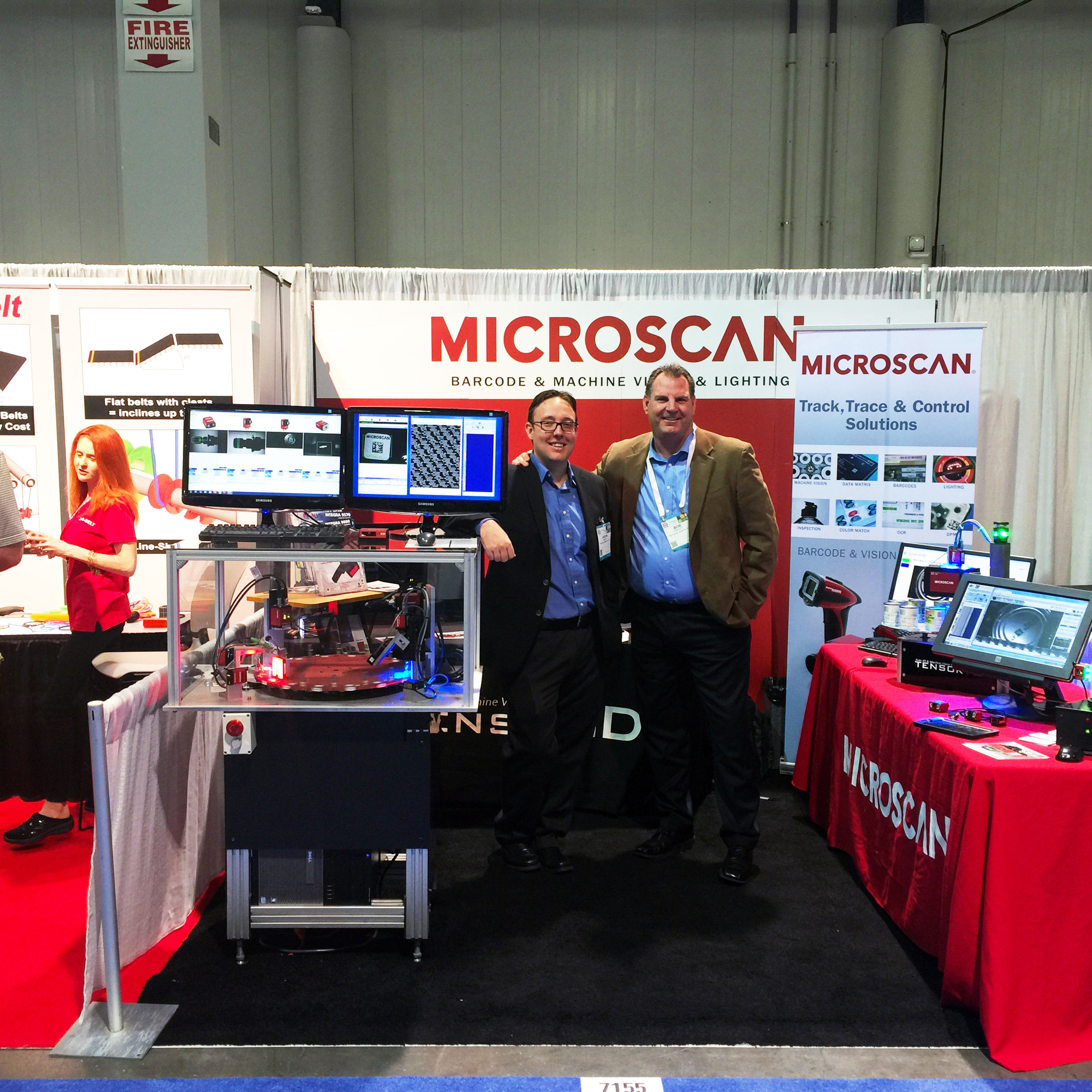 Microscan and Tensor ID Unveil MicroHAWK Readers at PACK EXPO