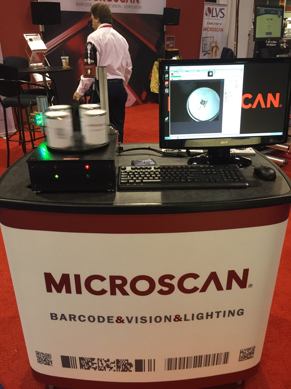 MicroHAWK MV Smart Cameras at Labelexpo Americas 2016
