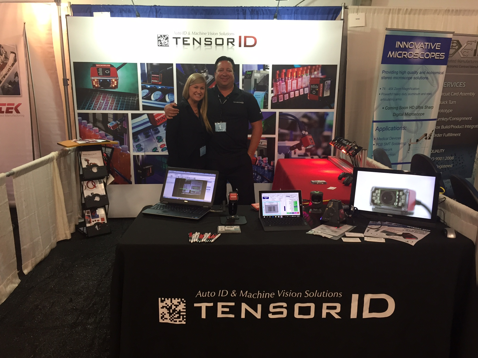 Tensor ID at Del Mar Electronics Show