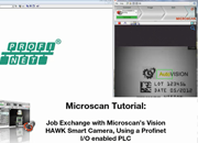 AutoVISION Demo 11: Changing Inspection Jobs Using a PLC Over EtherNet/IP