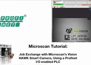 AutoVISION Demo 13: Changing Inspection Jobs Using a PLC Over PROFINET I/O