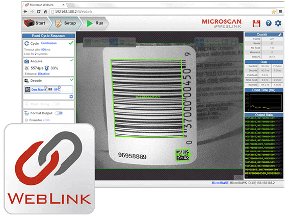 WebLink: Incredibly Intuitive Barcode Reader Interface